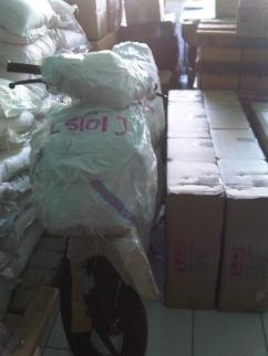 Packing Sepeda Motor